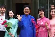 韩国驻越大使通过越文音乐视频传递美好祝愿