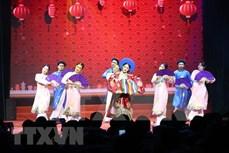 """2021新年晚会暨""""国际友谊艺术节""""颁奖仪式在河内举行"""