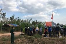 平阳省发现13名非法入境的外国人