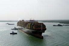 16万吨级集装箱船安全进港靠泊 创盖梅—布市深水港新纪录