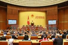 越南第十四届国会第十一次会议新闻公报(第三号)