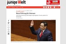 德国媒体对越南新领导班子给予好评