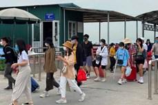4•30和5•1假期广宁省接待游客量达近30万人次