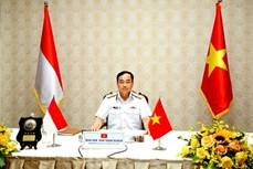 越南和印度尼西亚海军努力提高协同能力