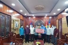 老挝与越南携手抗击新冠肺炎疫情