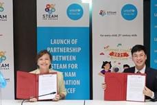 联合国儿童基金会启动提高越南儿童数字化知识和技能的计划