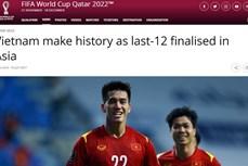 国际足联对越南国足的历史性胜利印象深刻