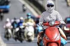 越南中部和北部特别炎热 局部气温超过40摄氏度