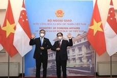 越南与新加坡面向达成有关数字经济的双边协议