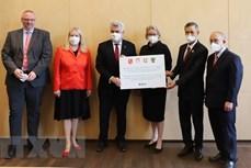 德国向越南捐赠19万套快速检测试剂盒