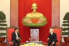 进一步促进越南与老挝贸易关系