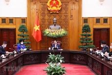 越南政府总理范明政:世行愿与越南携手同行 为越南经济社会的发展作出贡献