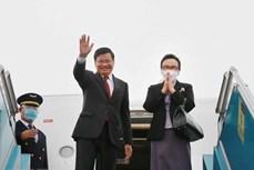 老挝人民革命党中央总书记、国家主席通伦·西苏里圆满结束对越南进行的正式友好访问