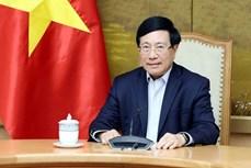 政府副总理范平明与美国国家安全顾问杰克·沙利文通电话