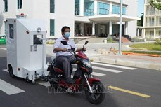 岘港市理工大学成功研发运输新冠患者的医用隔离箱