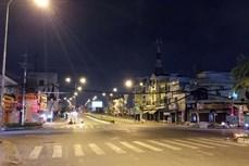 实施社交距离措施一个月后的胡志明市