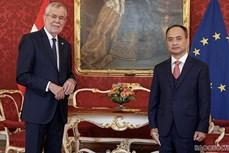阮忠坚大使向奥地利总统递交国书