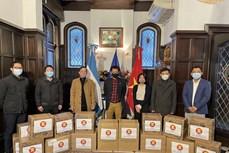 东盟各国捐赠物品支持在阿根廷贫困群众