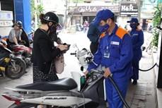 越南汽油价格上涨850越盾