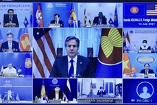 东盟与美国一致同意合作促进经济复苏和减少疫情带来的负面影响
