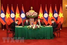 老挝媒体:老越特殊团结与全面合作关系日益密切