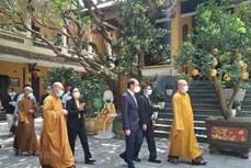 越南佛教协会呼吁全国僧尼和佛教徒实施禁足措施 祈求平安 早日击退疫情