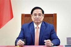 越南政府总理范明政与菲律宾总统罗德里格·杜特尔特通电话