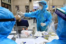7月20日上午越南新增2155例新冠肺炎确诊病例