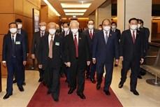 越南第十五届国会第一次会议隆重开幕:为第十五届国会奠定前提并注入强有力动力