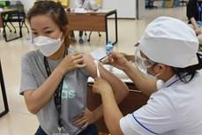 老街省为边民接种中国援助的Vero Cell疫苗