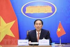 裴青山以视频方式出席第11届湄公河-恒河合作外交部长会议