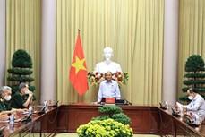 越南国家主席:知恩图报、缅怀先烈是越南民族饮水思源传统