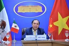 越南与墨西哥第六次政治磋商以视频形式举行