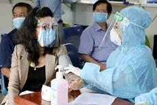 新冠肺炎疫情:军队在胡志明市开展全面消毒与灭菌工作