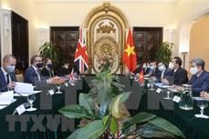 苏英勇副外长:希望英国继续优先为越南获取新冠疫苗提供支持