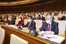 越南第十五届国会第一次会议:对2021-2026年任期政府组织结构做出决定