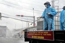 胡志明市上下一心 有效实施各项防疫措施 使城市尽早回到正常轨道