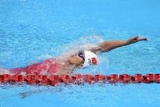 2020年东京奥运会游泳比赛:越南选手阮氏映圆止步于女子200米自由泳预选赛