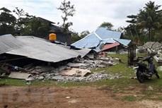 印度尼西亚再次发生强烈地震