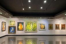 """""""画感""""绘画展为观众传递乐观精神与正能量"""