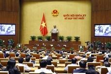 越南第十五届国会第一次会议进入最后一个工作日