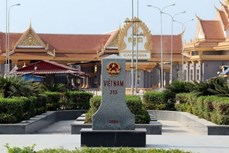 越南与柬埔寨就陆地边界工作展开讨论