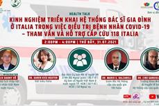 """意大利专家代表团启动""""侨胞携手渡过疫情难关""""的系列在线座谈会"""