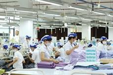 越南纺织品服装出口额同比增长20%