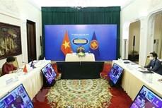 东盟外交部长和东盟政府间人权委员会代表进行磋商