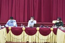 武德儋副总理:朔庄省须尽快发现疫情来袭 坚决防止疫情向社区蔓延