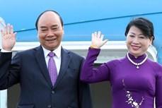 越南国家主席阮春福启程对老挝进行正式友好访问