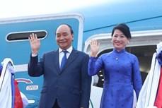 越南国家主席阮春福圆满结束对老挝进行的正式友好访问