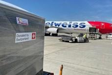 新冠疫情:瑞士向越南提供13吨医疗援助物资
