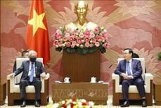 越南国会主席王廷惠会见联合国驻越协调员
